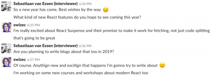 react new year 2019 new features