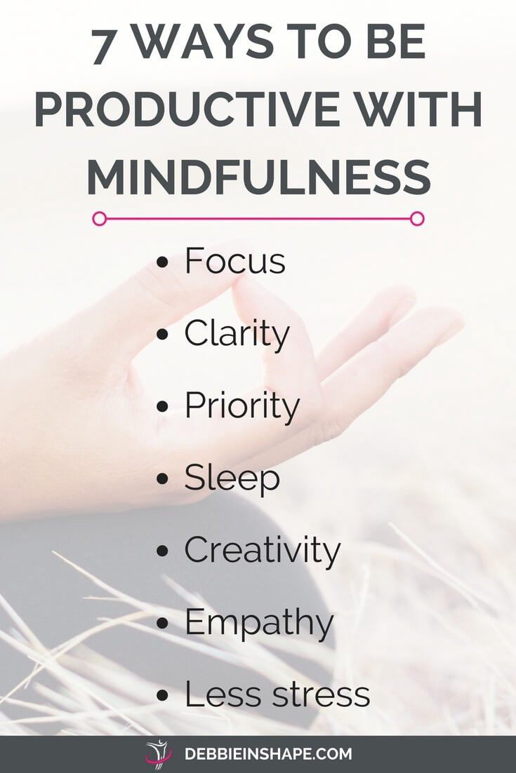 7 ways to become more mindful for efficiency and success. Learn how on the blog.