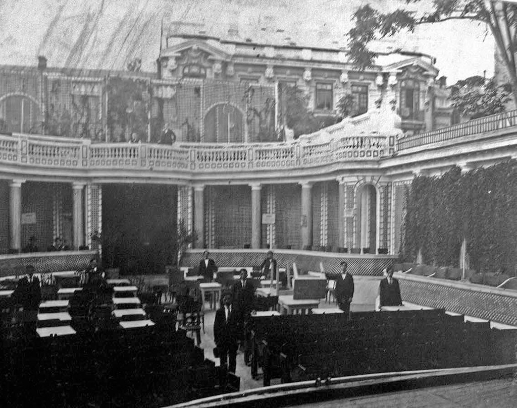 Theater Square at the end of XIX century