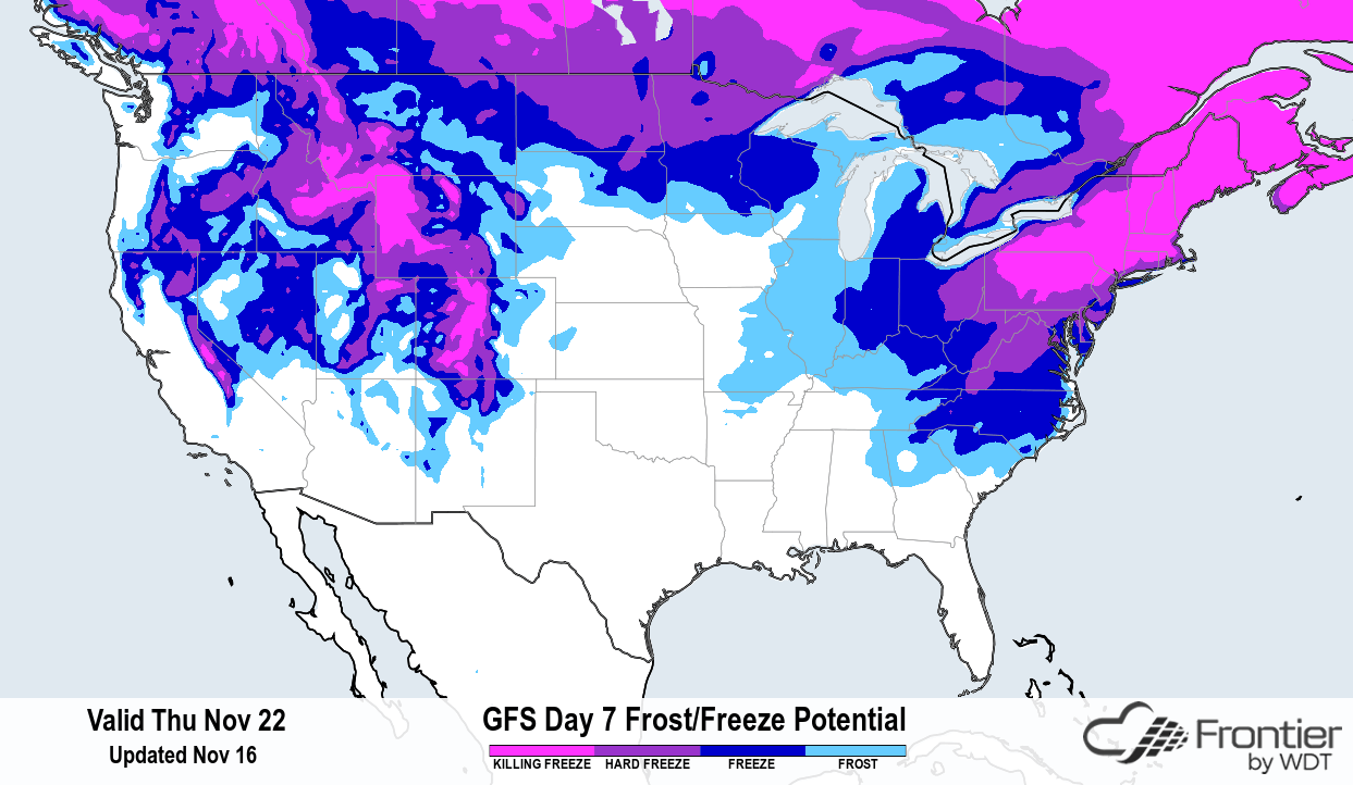 Weather Across the US Ranges From Fire to Ice