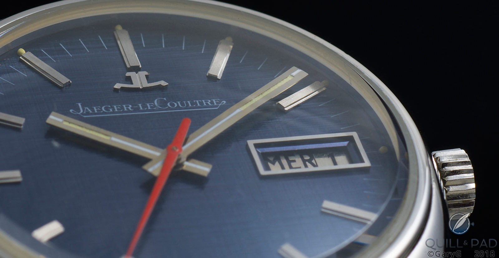 On the lowdown: detail view, Jaeger-LeCoultre Caliber 906 prototype