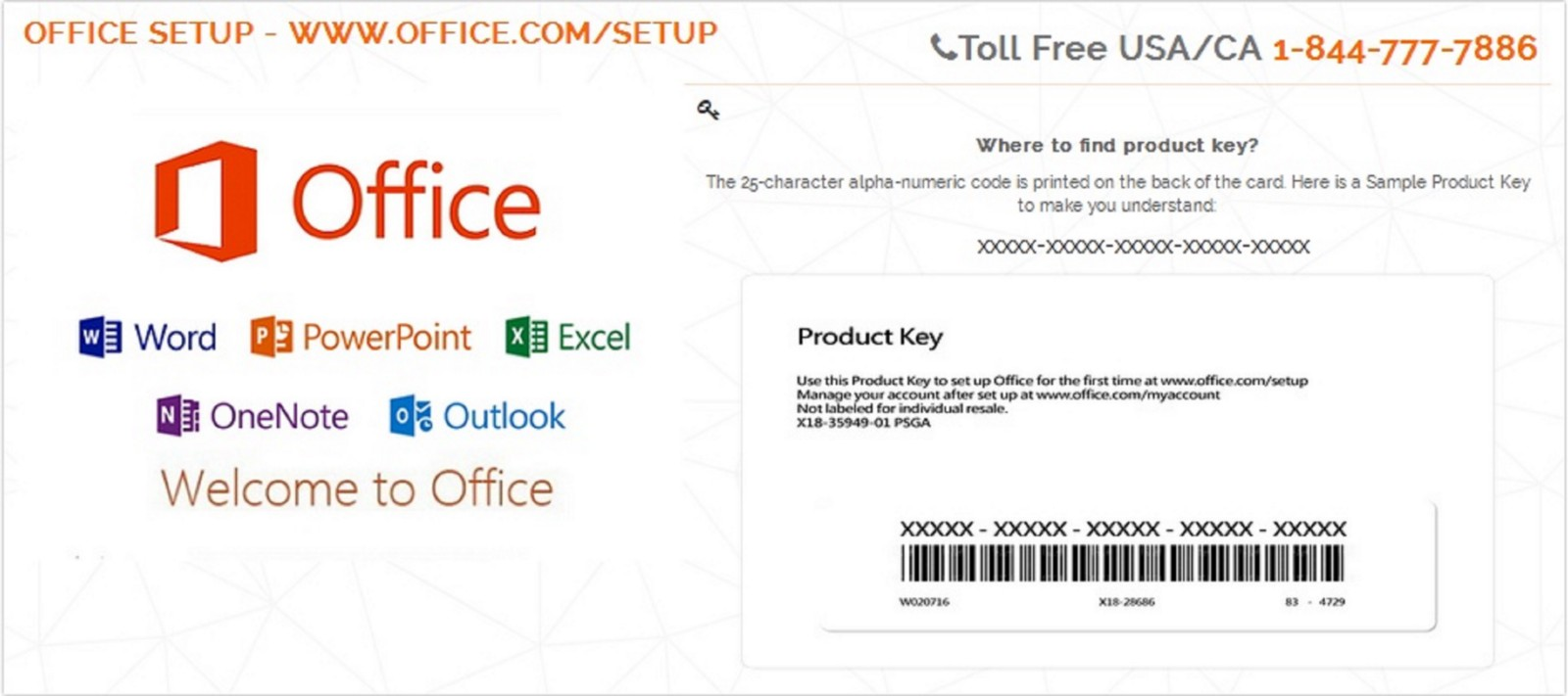 install microsoft office with product key