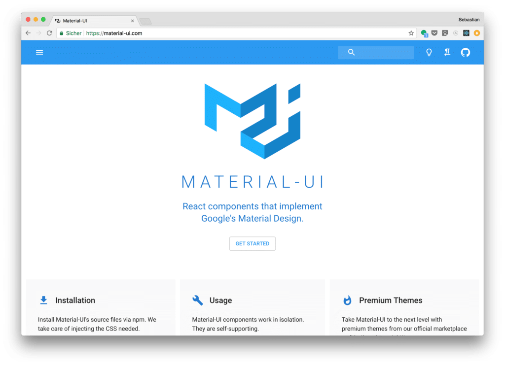 Getting Started With Material Ui For React Material Design For React