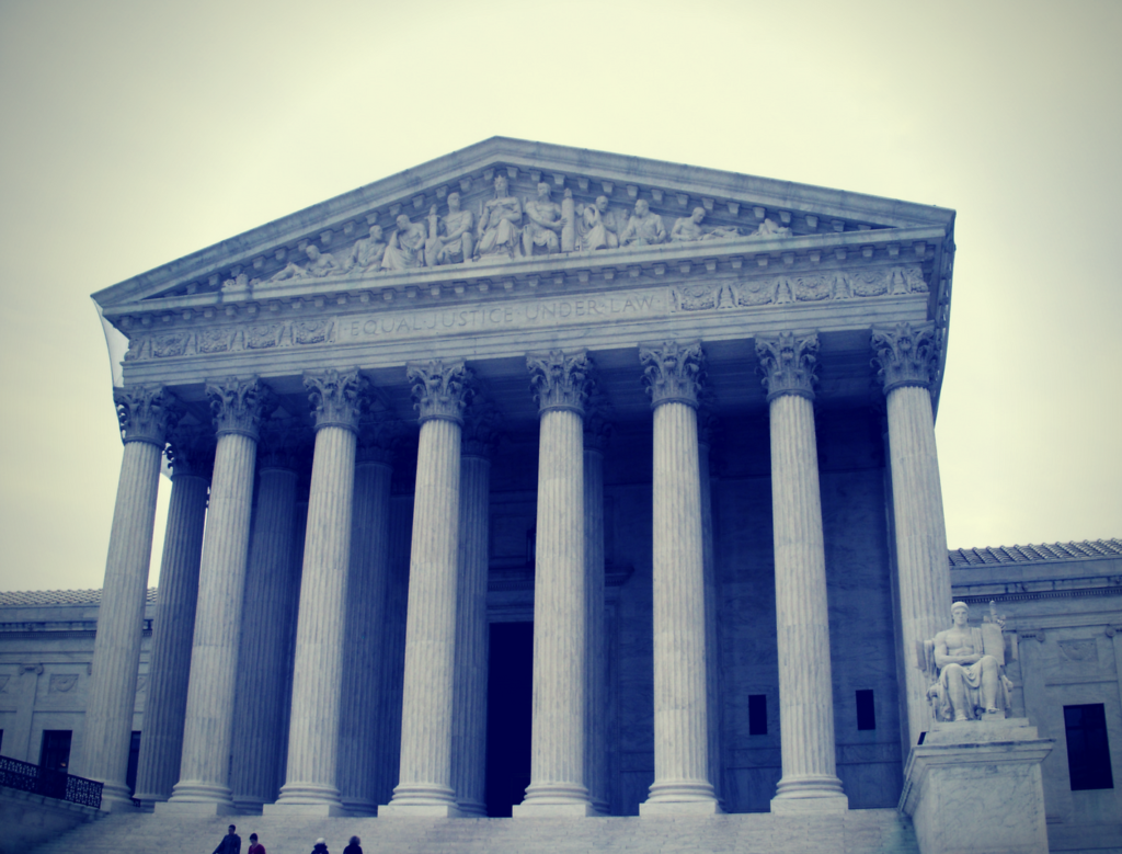 US supreme court gets authority from constitution