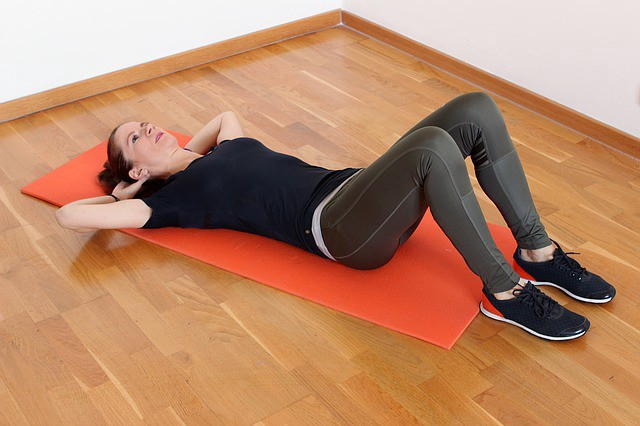 10 Workouts You Can Do At Home - Crunches