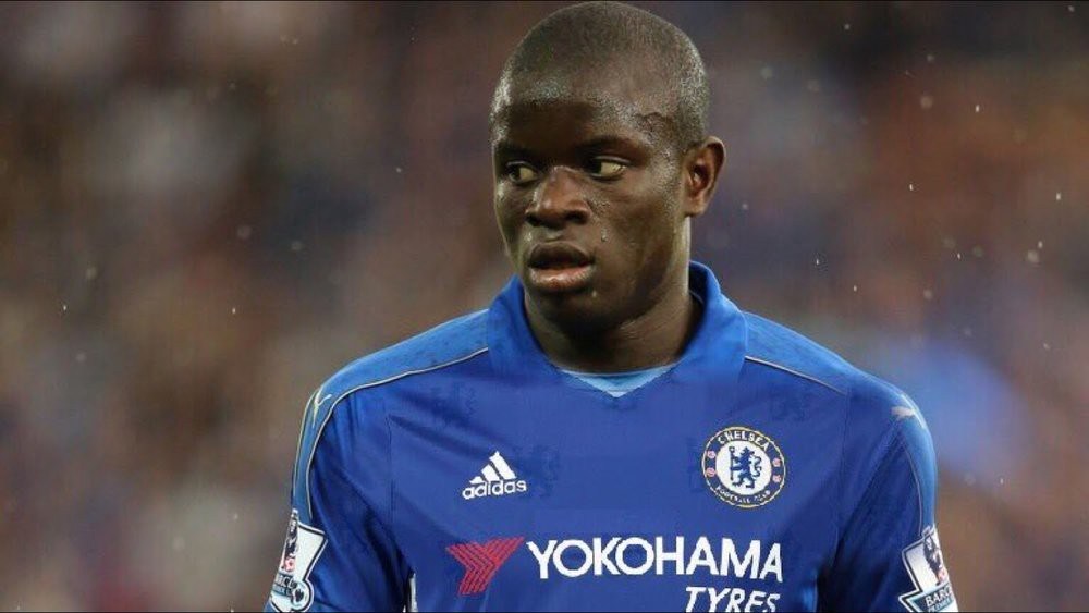 Chelsea's new signing n'golo kante