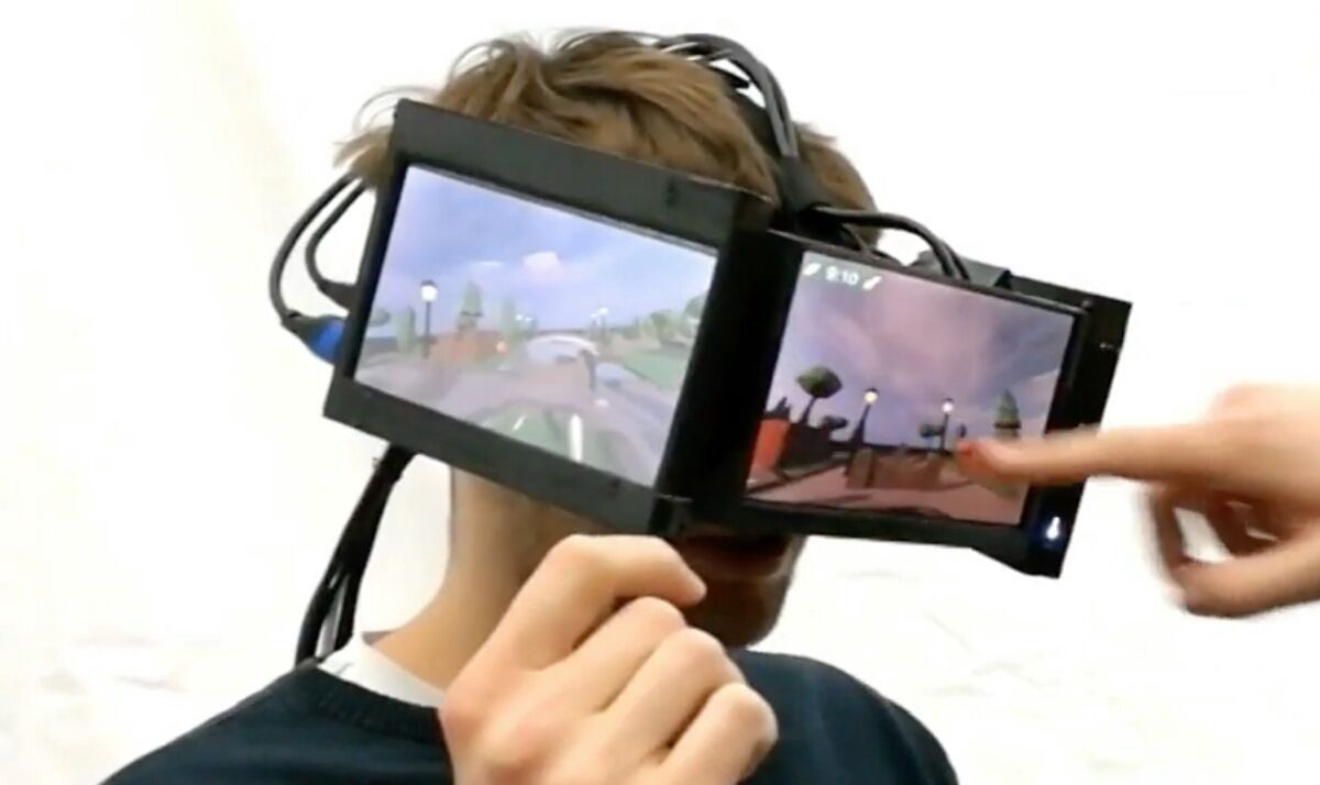 FaceDisplay: #VR for You, Entertainment for Everyone Else!