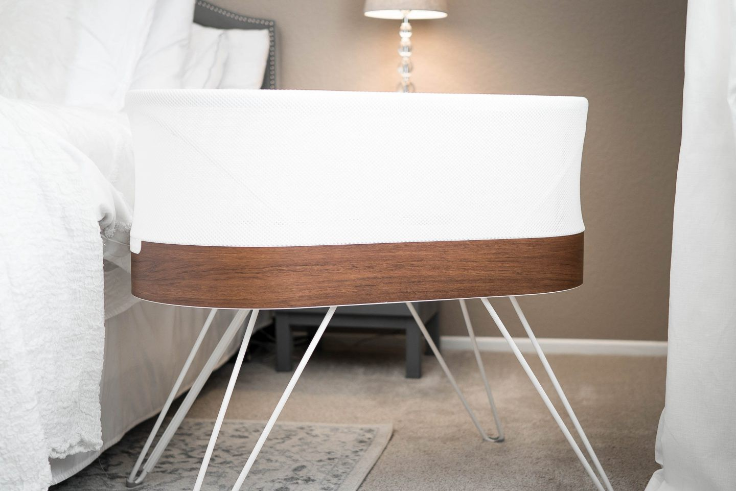 SNOO smart sleeper review featured by popular Orange County lifestyle blogger, Dress Me Blonde