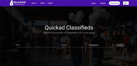 15+ Best PHP Classified Ads Scripts