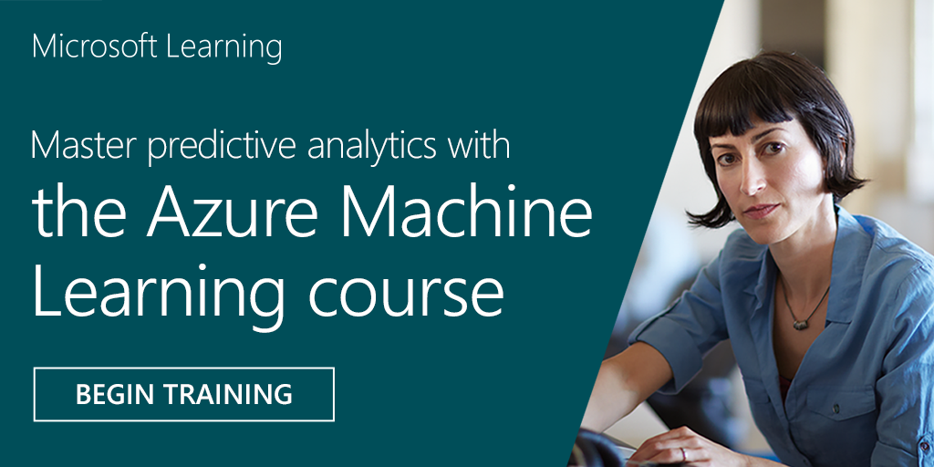 Be a master of the #machinelearning world 🌎 with this hands-on #Azure course!  #MSMVA