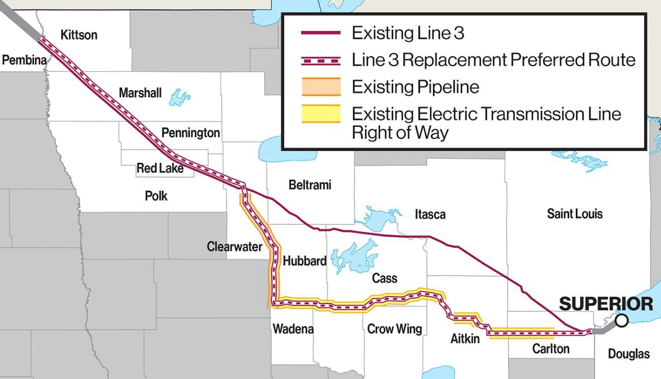 Is the Enbridge Line 3 Replacement Pipeline the Next Keystone XL?