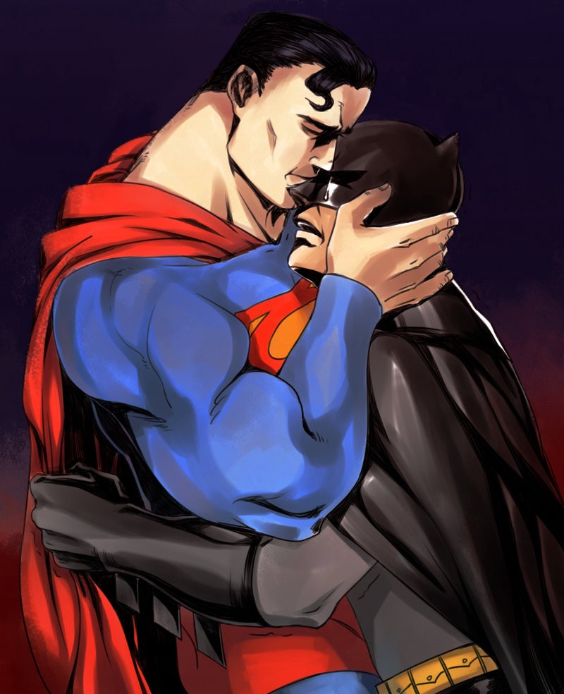 Batman And Superman Must Kiss In The New Movie  Brian Feldman  Medium-2645