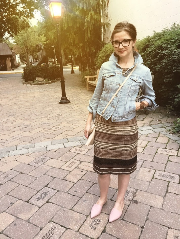 dress and mules outfit