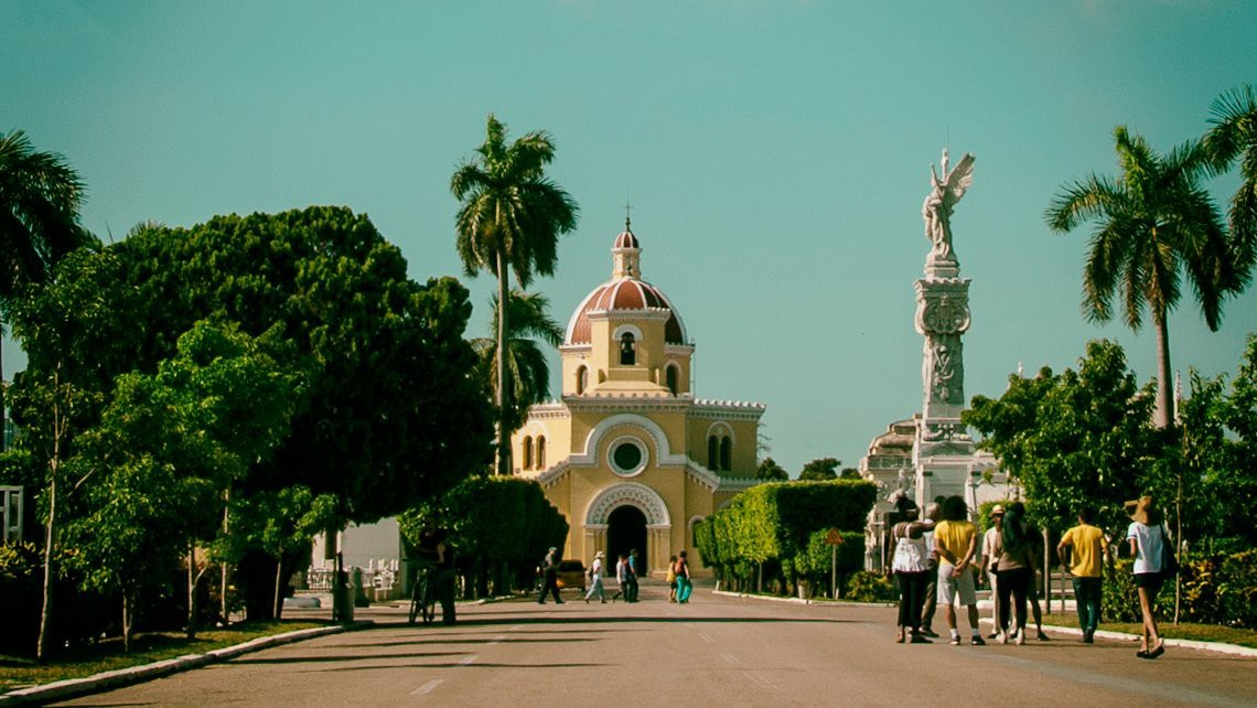 The Main Chapel at Christopher Columbus Necropolis, one of its kind in Cuba