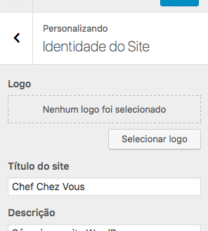 Painel: Identidade so site