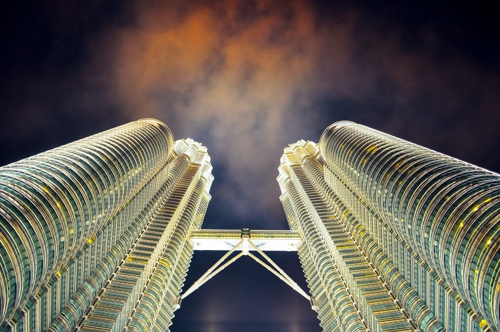 Picture of the Petronas Twin Towers