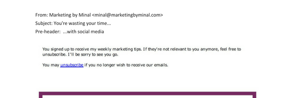 Email newsletters that get action