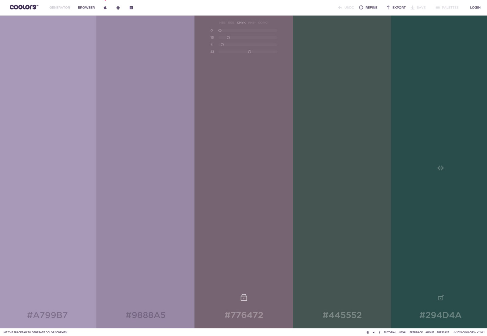 thesis color schemes Paletton is the successor of the previous color scheme designer 3 application, used by almost 20 milion visitors since 2009 (while the first version was published in 2002), both professional designers and amateurs interested in design, mobile or desktop application design or web design, interior design, fashion or home improvement and make-overs.