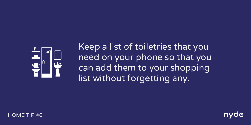 Home Tip #6
