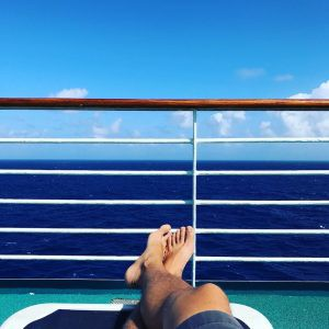 Nomadic 2017: Relaxing view from the cruise
