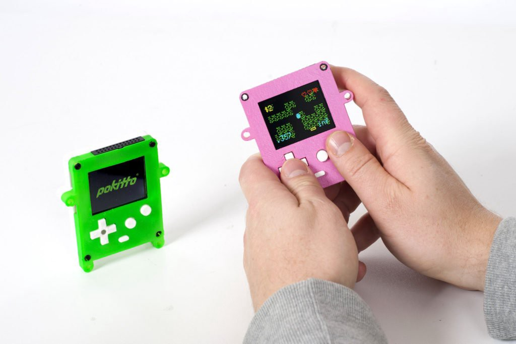 Meet POKITTO, a DIY gaming + IoT device based on an ARM Cortex-M0+: