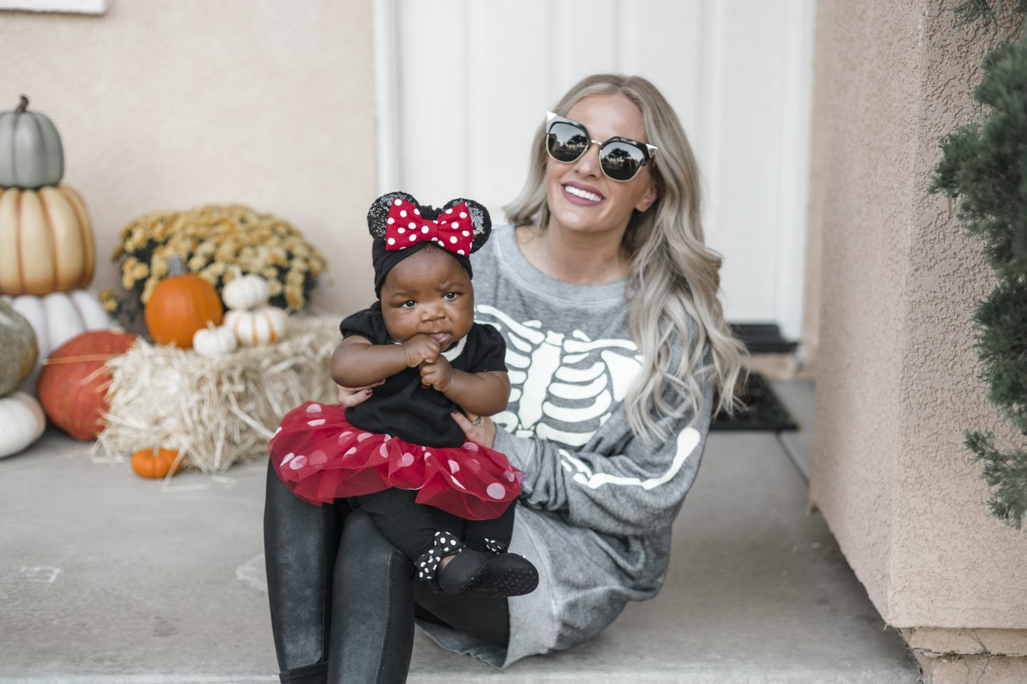 Cute Baby Halloween Costumes featured by top Orange County life and style blog, Dress Me Blonde: Minnie Mouse