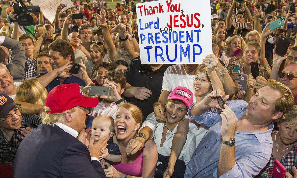 Image result for donald trump rally