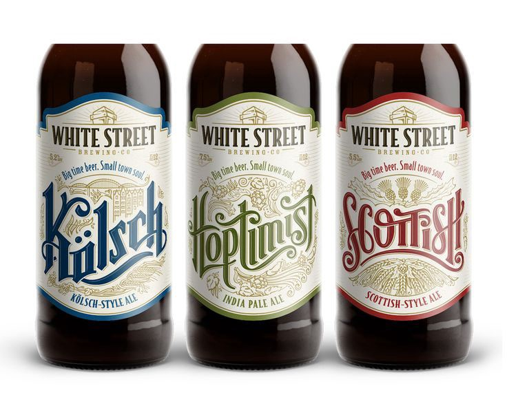 Beautiful Beer Label Designs  From Up North