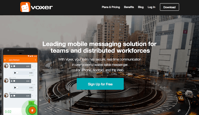 Productivity Apps For Business Voxer