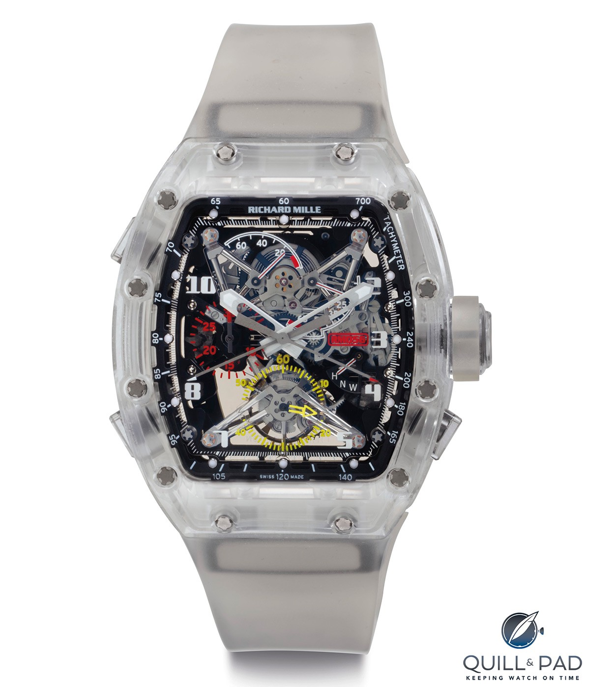 Christies lot 228: Richard Mille RM 056 Prototype No. 2