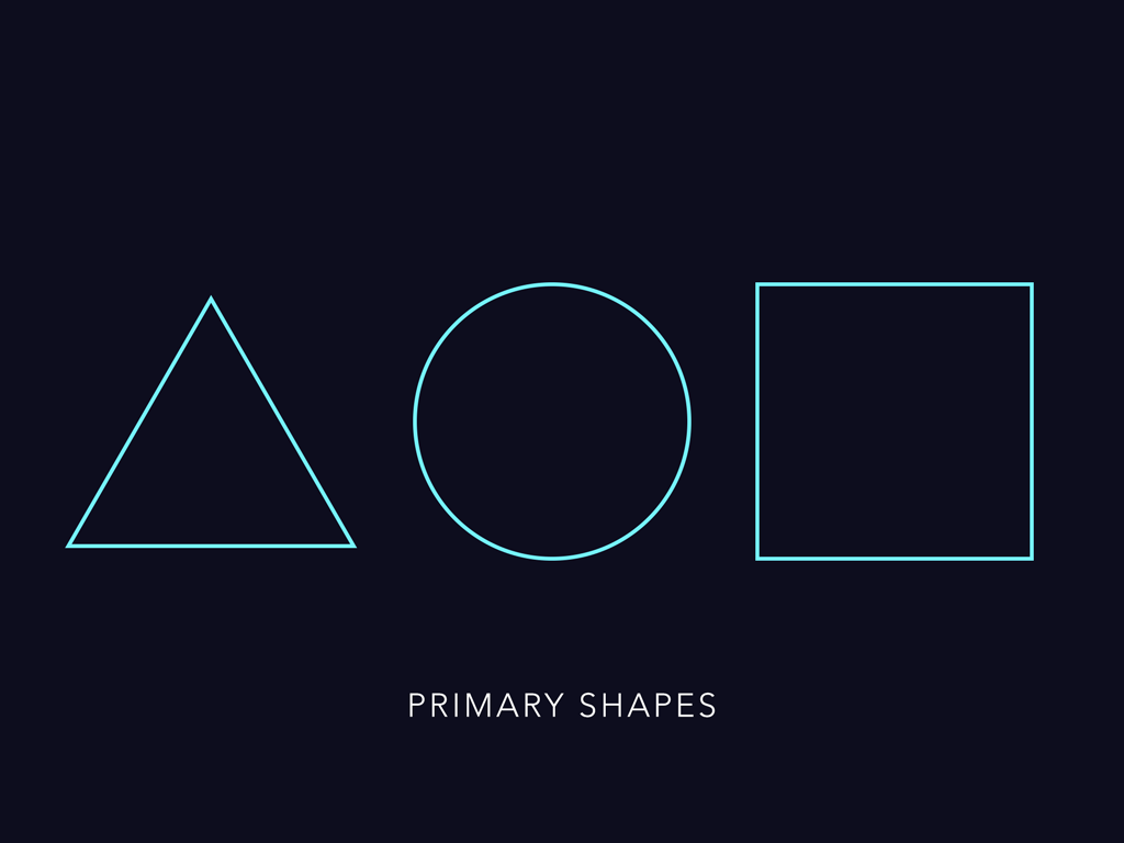 Two, Primary Shapes