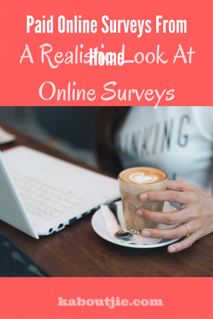 Paid online surveys from home a realistic view