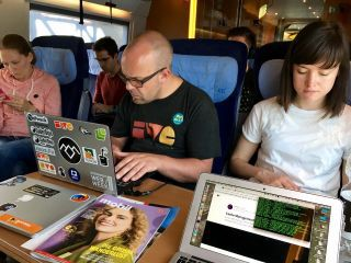 Indie Web Train.