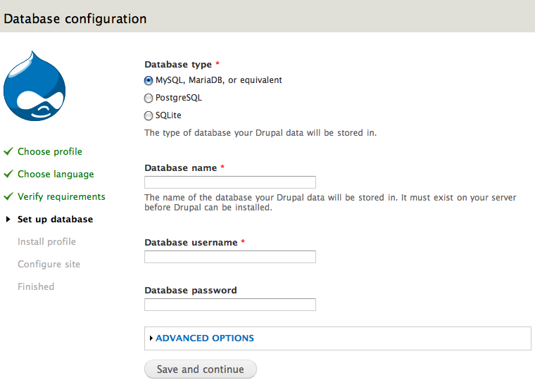 Drupal and CiviCRM installation with AWS RDS, LEMP stack