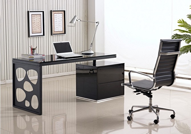 creative office furniture creativity modern office desk in black lacquer top 10 creative desks of 2015 betty moore medium