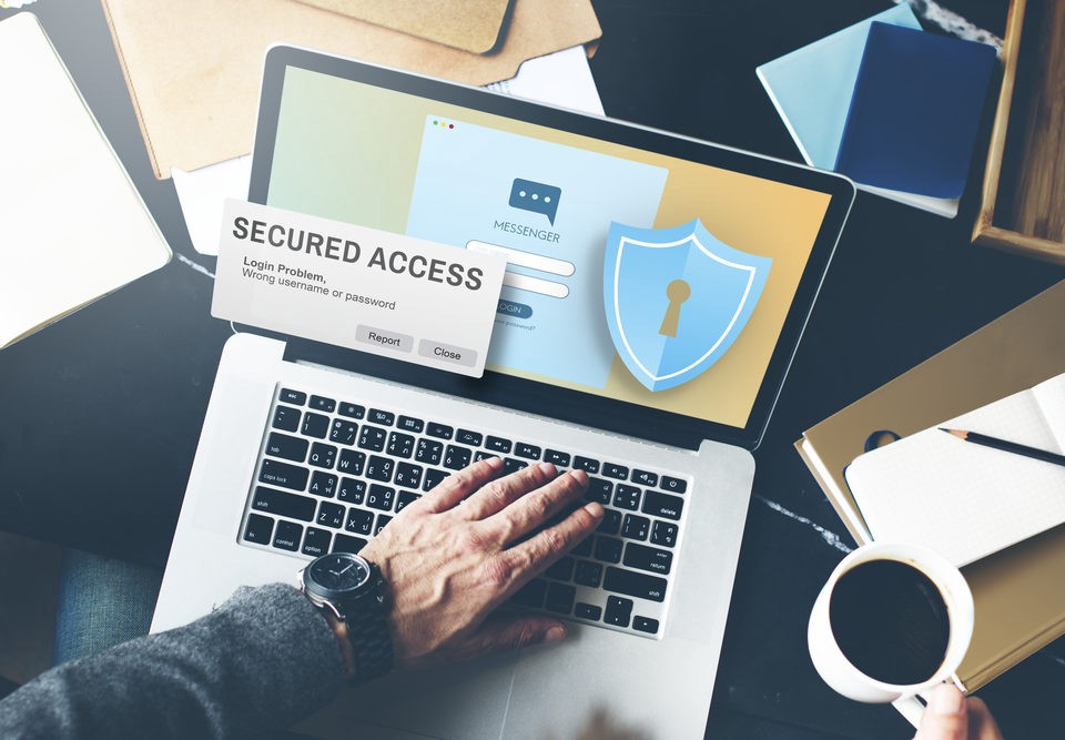information security on websites and remote teams