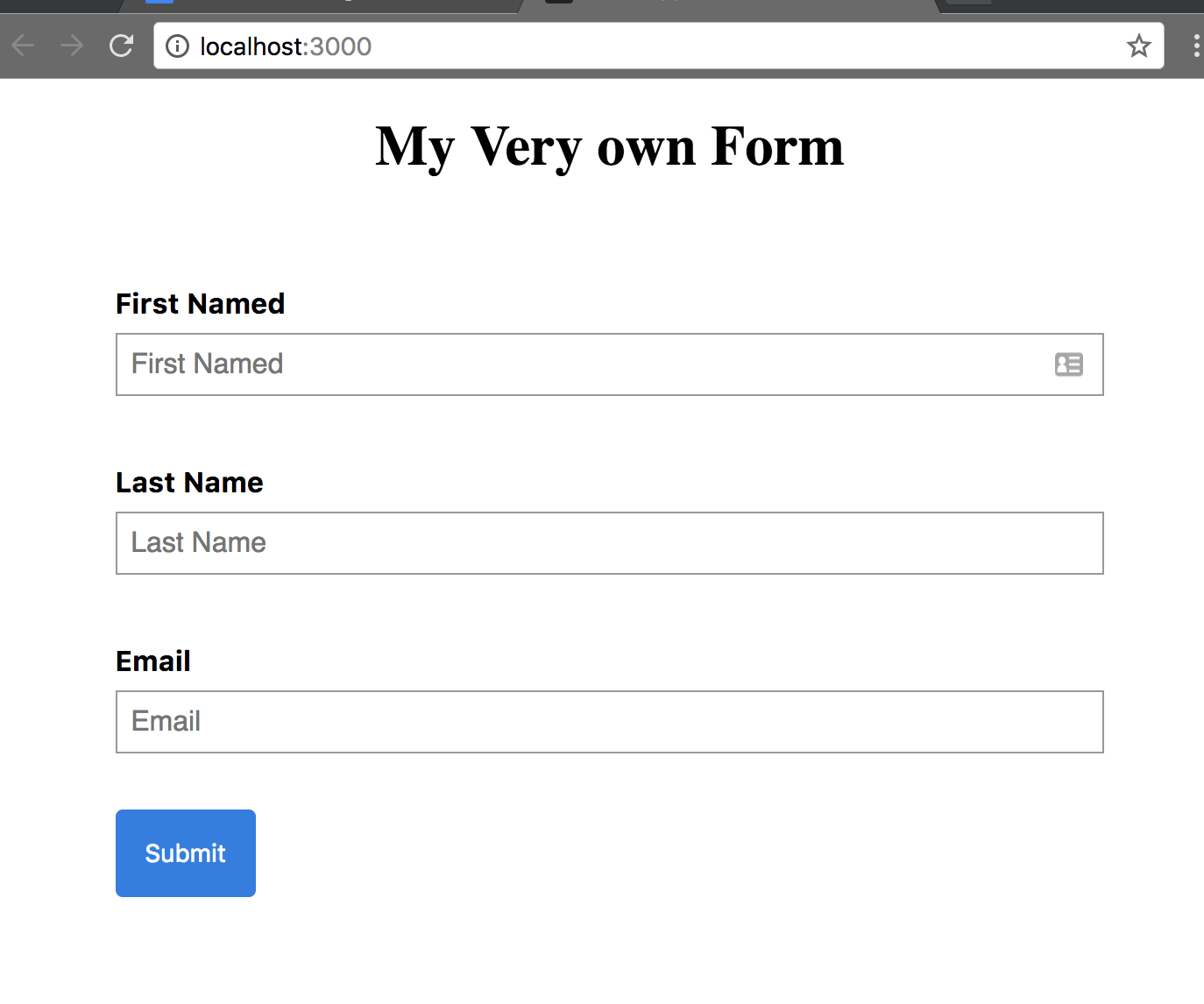 Forms with redux form v7 part 1 of 2 codeburst and theyll all be tracked in redux state falaconquin