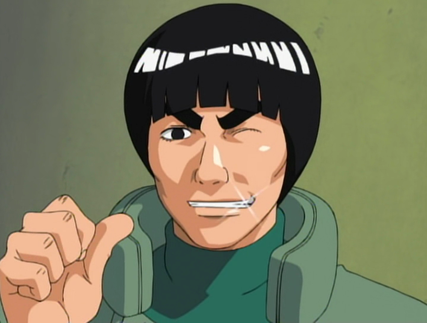 death battle the might guy vs rock lee who would win