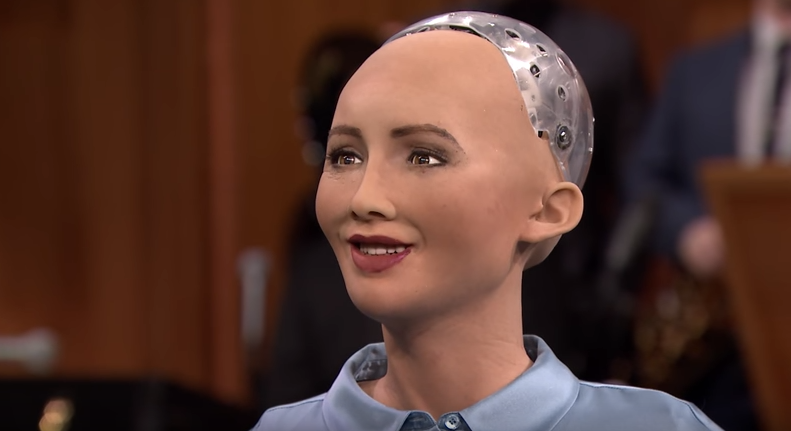 I've felt the effects of the uncanny valley with Sophia the Robot. Is she planning humanity's demise?