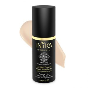 Inka Cosmetics Certified Organic Liquid Foundation With Hyaluronic Acid – $49.00