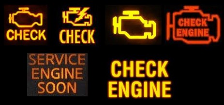 Check engine lights only tell you one thing: something's up and you should check it out.