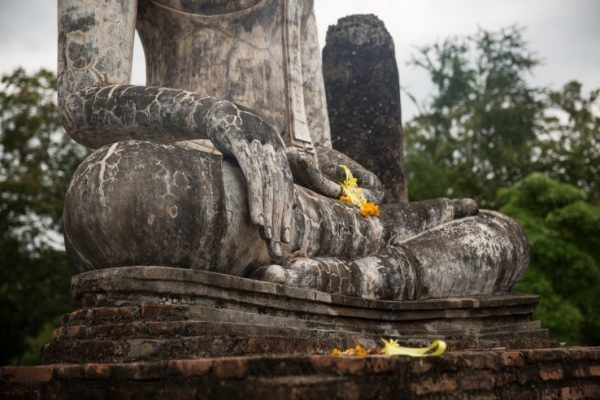 Thailand Sukhothai Ancient Siam Ruins Buddha Wat Temple Photo by Sher from SherSheGoes.com