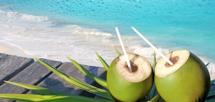 coconut water for cold