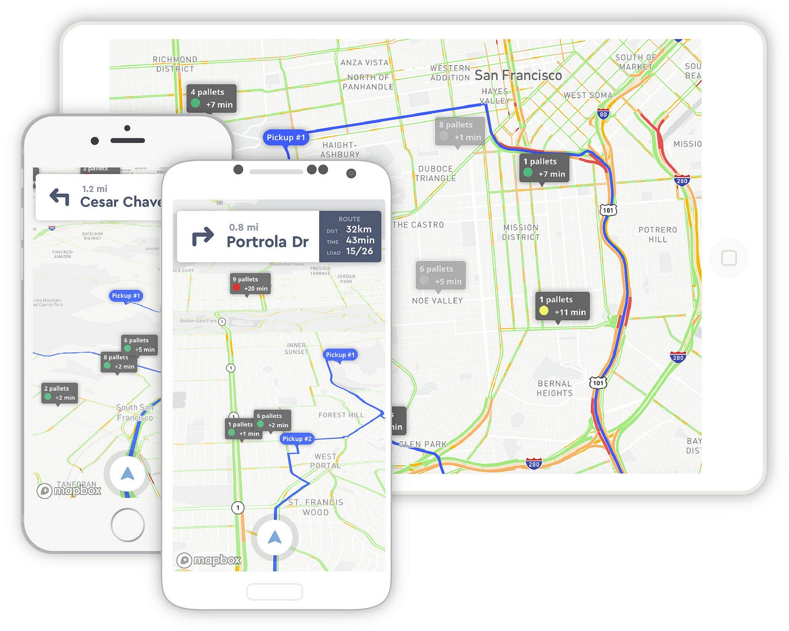 Interactive route planner for fleet management points of interest apps for drivers too gumiabroncs Image collections