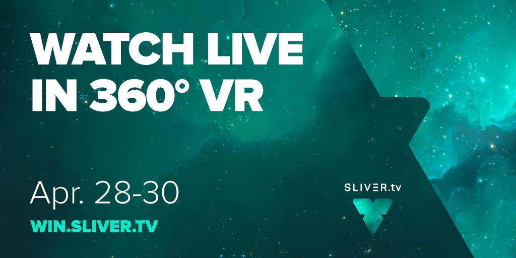Get front row seats at @Dreamhack! @SLIVERtv360 lets you view esports in immersive 360VR.