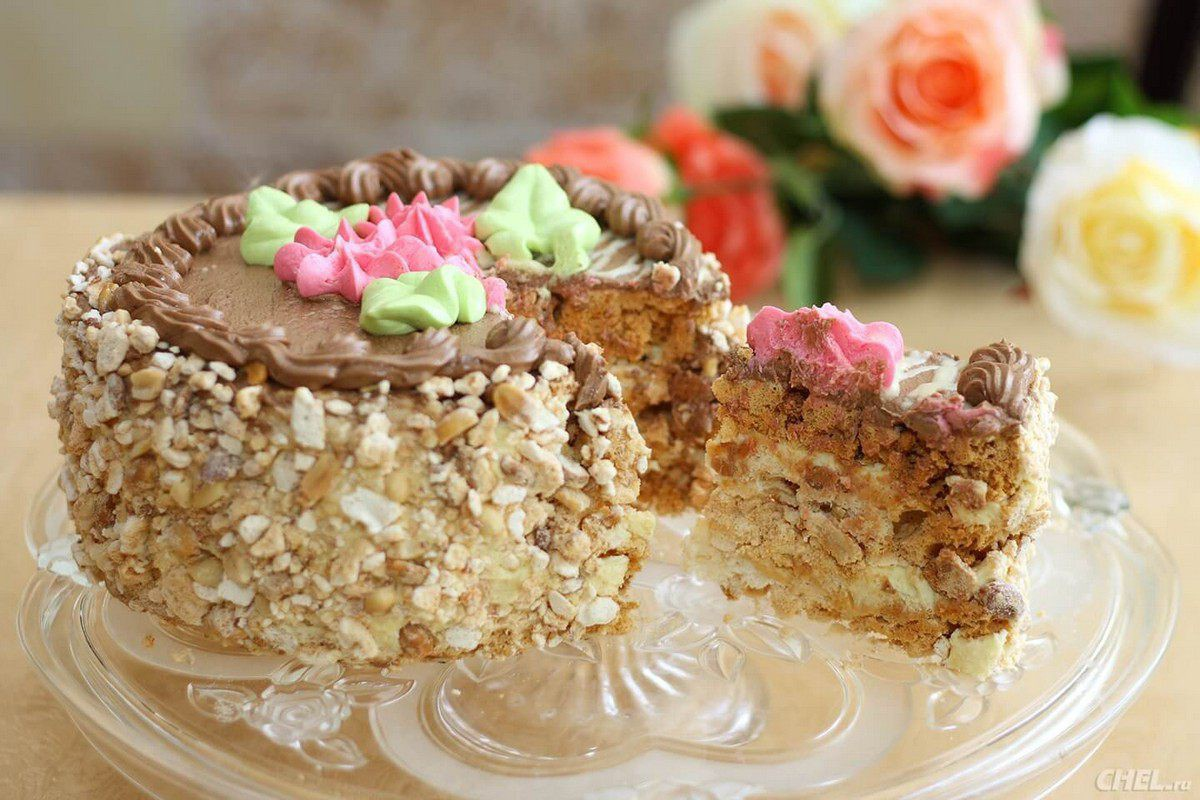 The recipe for the Kiev Cake - The Secret behind the Seven Castles