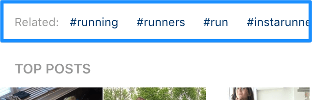 Finding the best hashtags through related hashtags