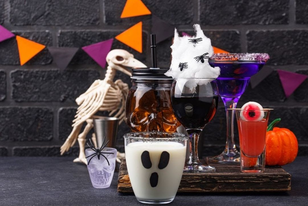 Halloween cocktail fall party pack for team building—Book with Eva and Spark by Designs