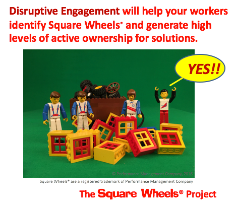 implementation of disruptive engagement