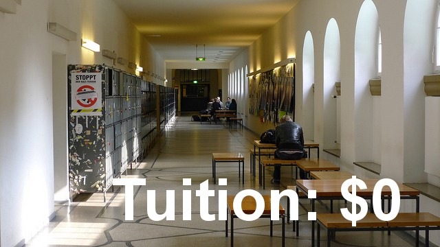 College tuition germany